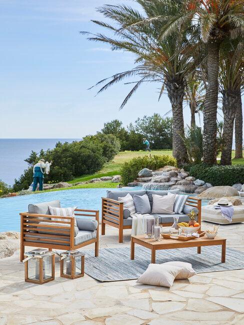 piscina muebles de exterior y jardin