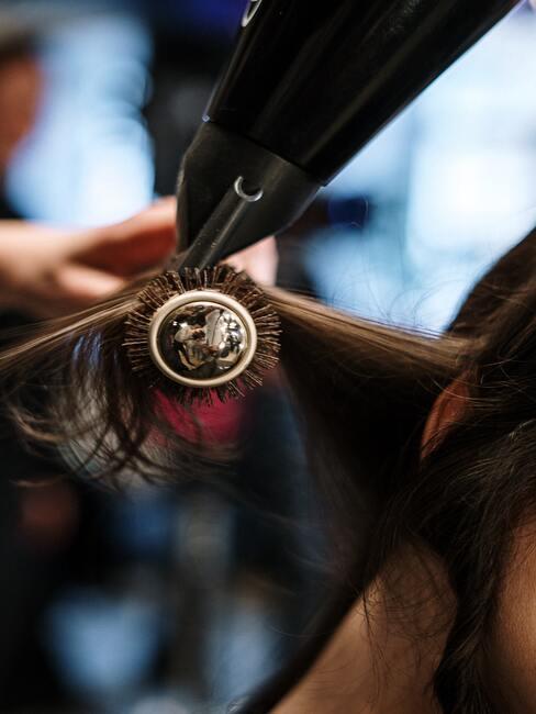 secando pelo