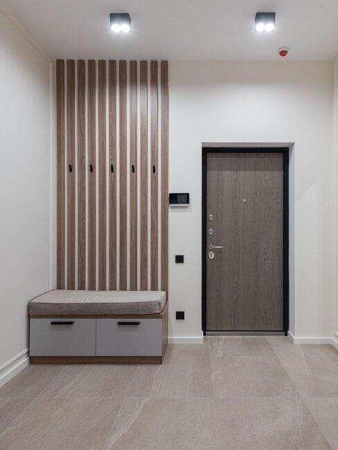 puerta pvc entrada moderna