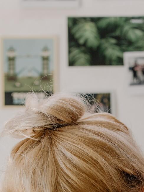 bun de cabello