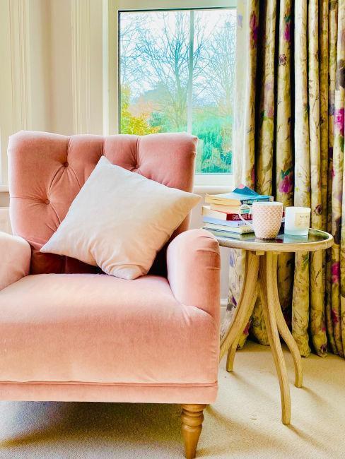 sillón rústico vintage
