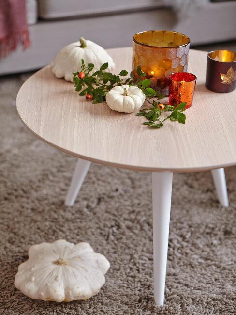 decoración de otoño y halloween