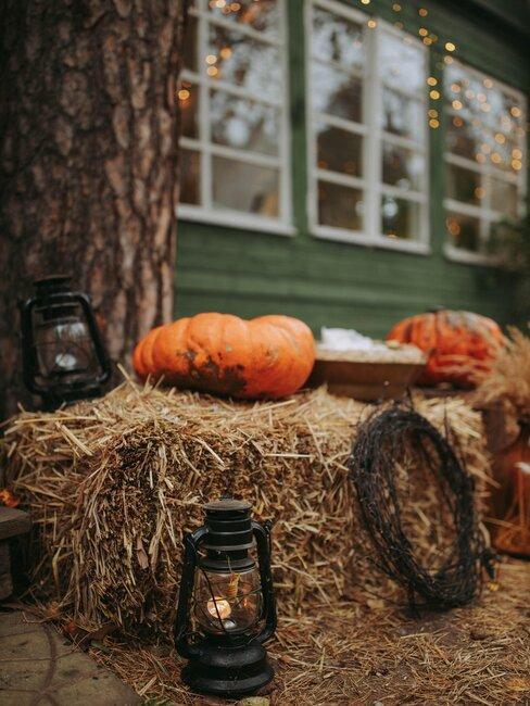 decoracion de halloween exterior