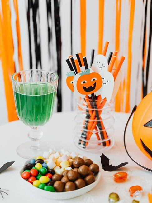 pajitas fiesta manualidades de halloween