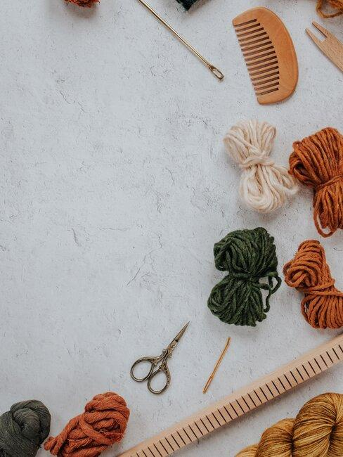 lana y tijeras