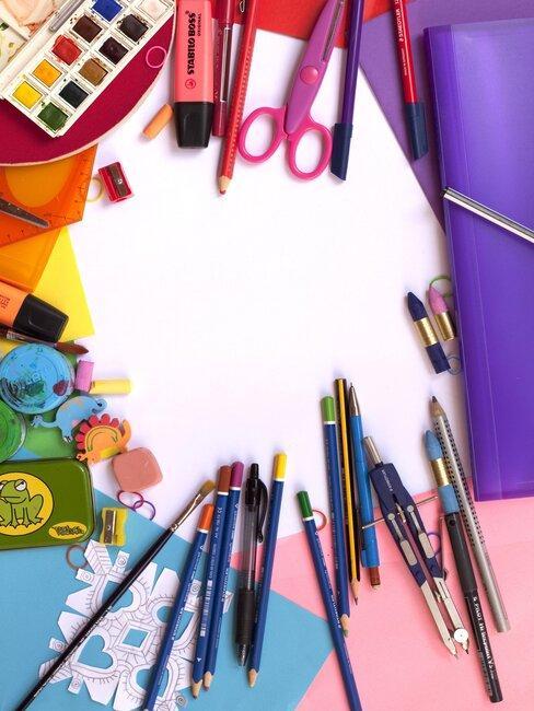 lapices, boligrafos y colores