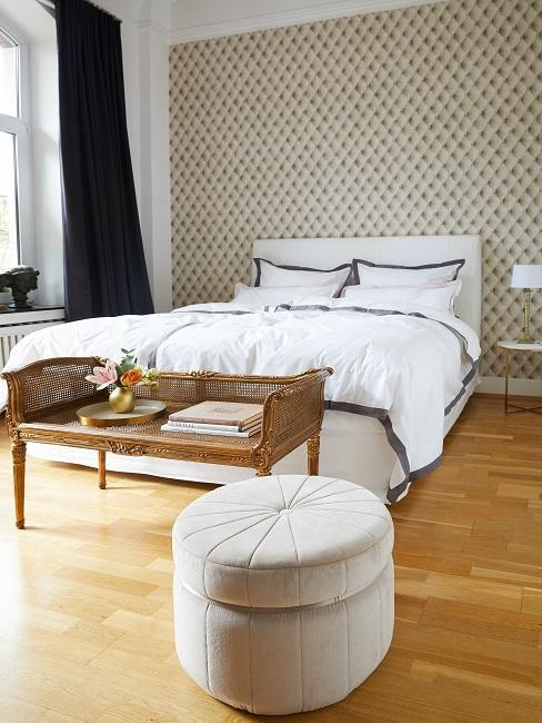 dormitorio detalles dorados