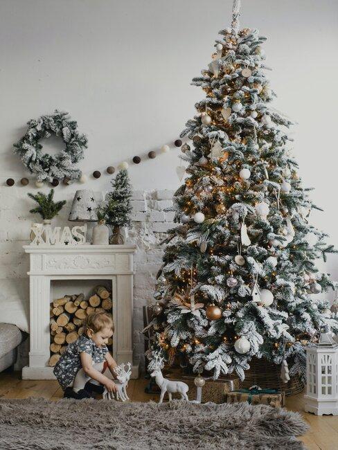 arbol de navidad rustico