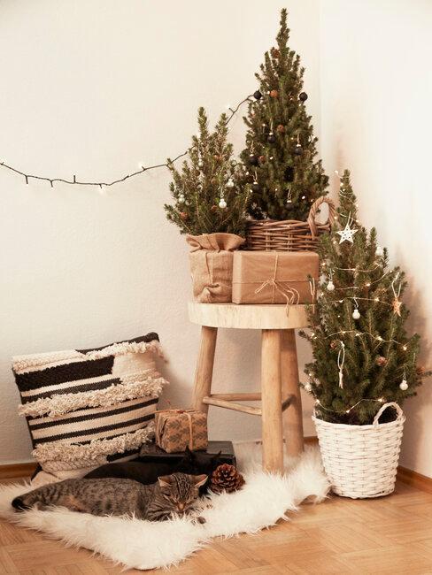 tres árboles de navidad