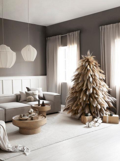 árbol de navidad estilo boho