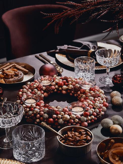 centro de mesa decoracion de navidad