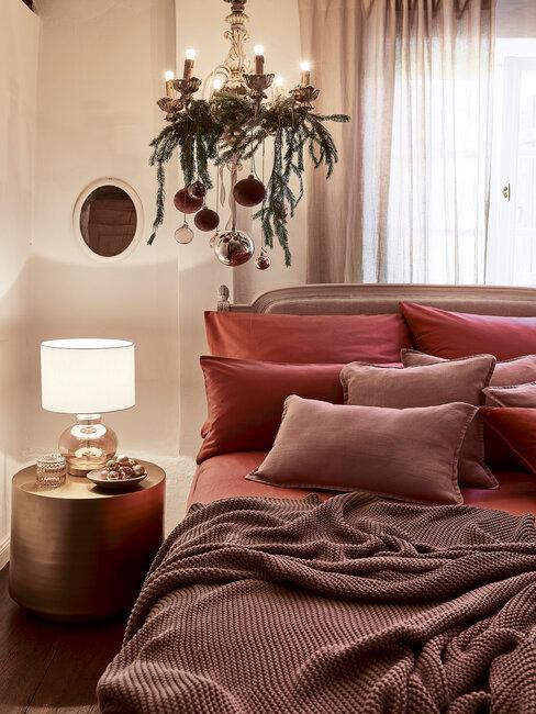 decoración de navidad dormitorio