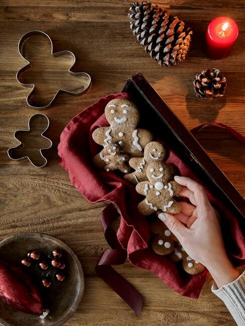 galletas de Navidad de jengibre