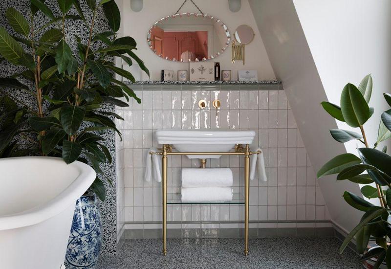 salle de bain Hotel Monte Cristo