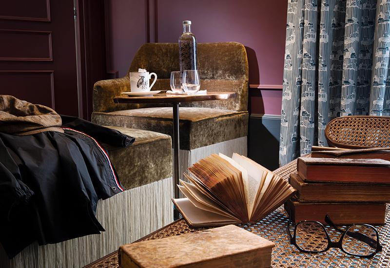 Hotel Monte Cristo Chambre avec fauteuil vintage