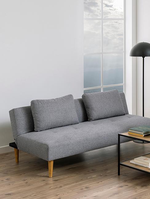 canapé convertible gris pour petite pièce à vivre