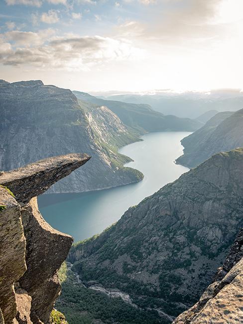 Fjord en norvège comme cadeau de mariage original