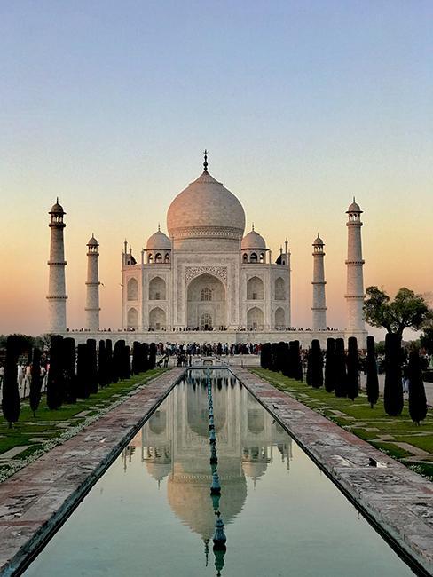 visite du Taj Mahal en Inde comme cadeau de mariage original
