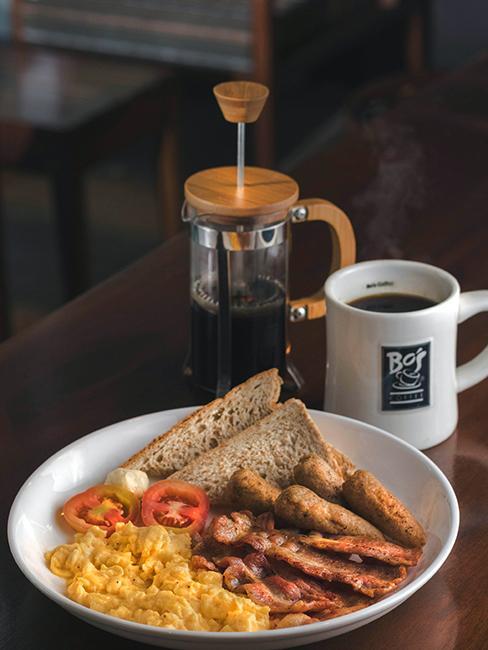 petit déjeuner nord américain