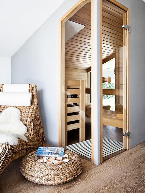 espace sauna spa dans maison