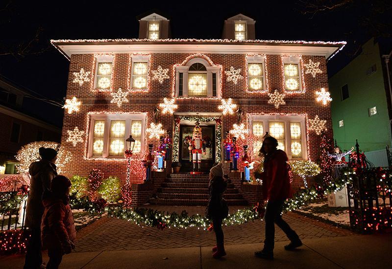 décoration extérieure maison pour Noel