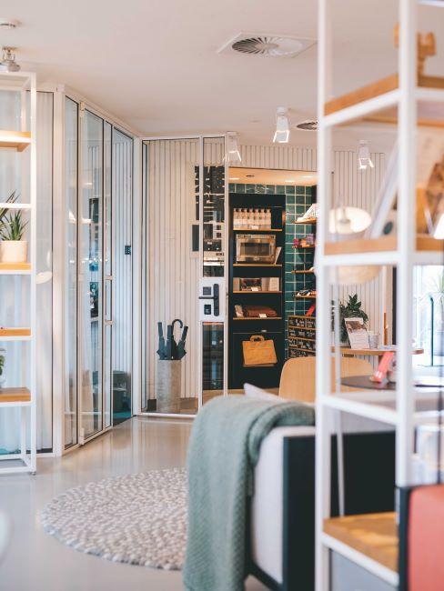 bureau moderne, bureau design, open space