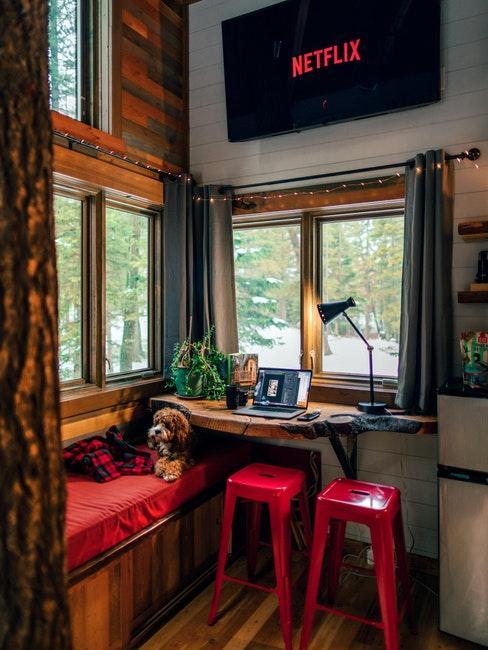 intérieur tiny house cosy