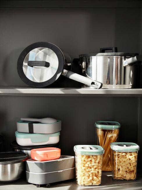 casseroles, bols, récipients à pâtes