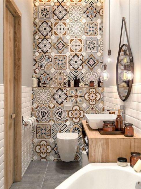Salle de bain moderne style espagnol