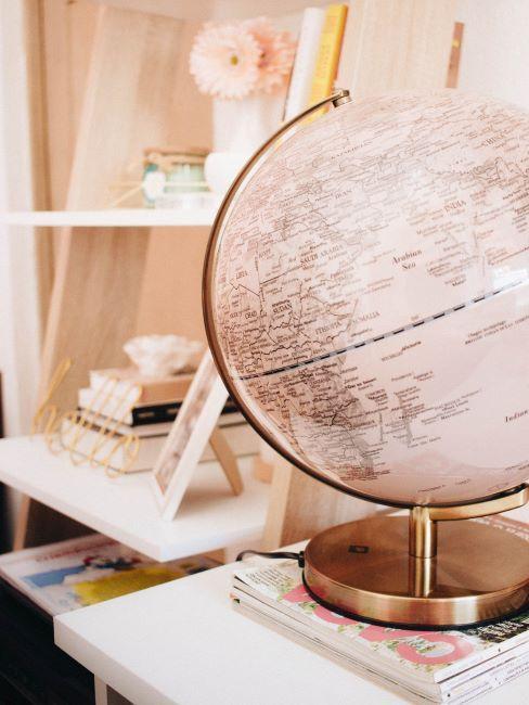 idée déco avec globe