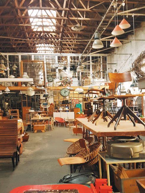 marché des meubles, brocante