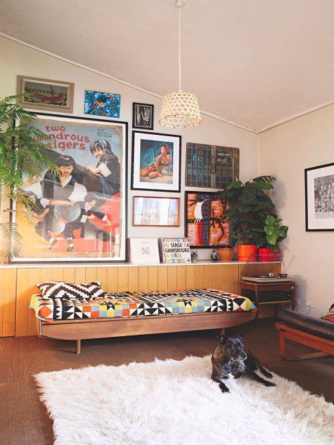 décoration rétro hippie