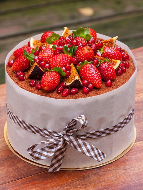 layer cake aux fruits