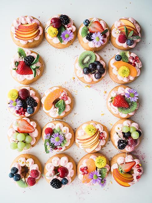sablé aux fruits