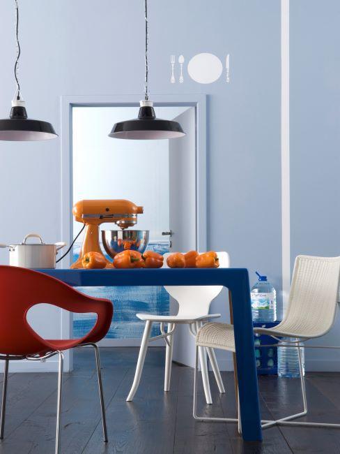 Cuisine moderne avec meubles design