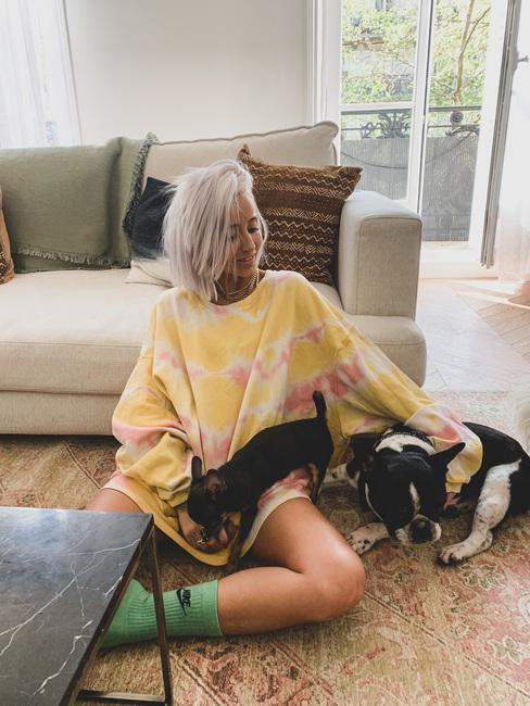 Noholita et ses chiens