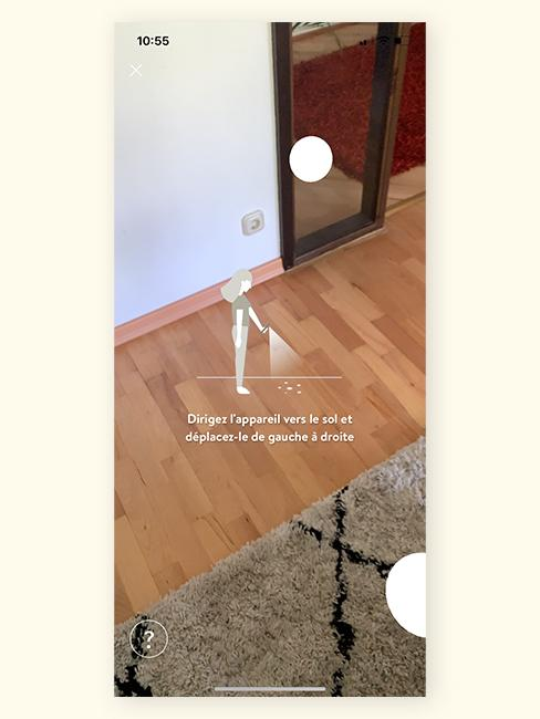 application réalité augmentée westwing