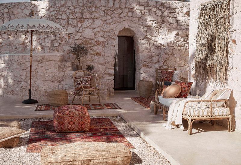 terrasse style oriental