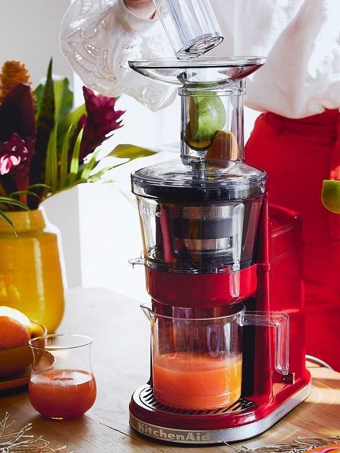 jus de fruis frais avec kitchenaid