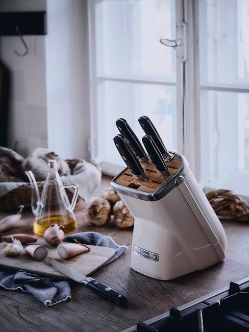 rangement pour couteau kitchenaid