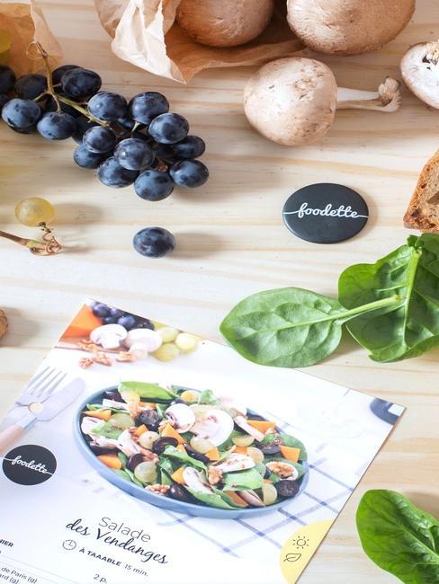 Foodette sachat salade des vedanges