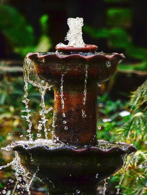 fontaine extérieur
