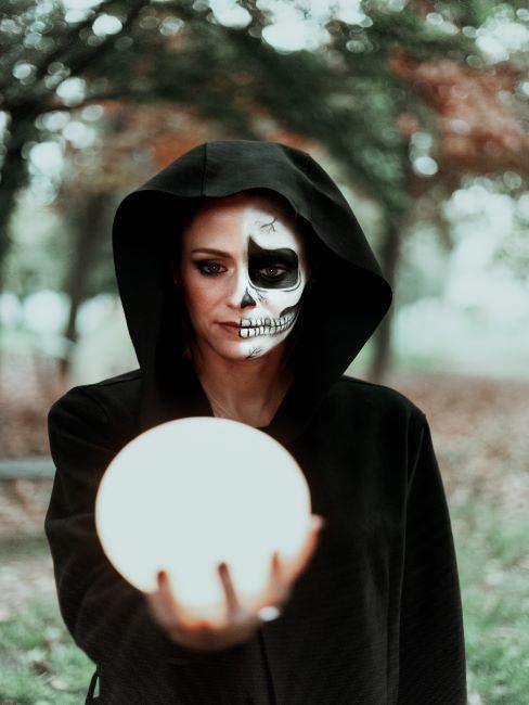 maquillage et deguisement halloween adulte