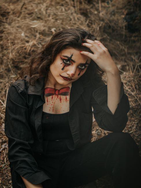 maquillage halloween femme adulte