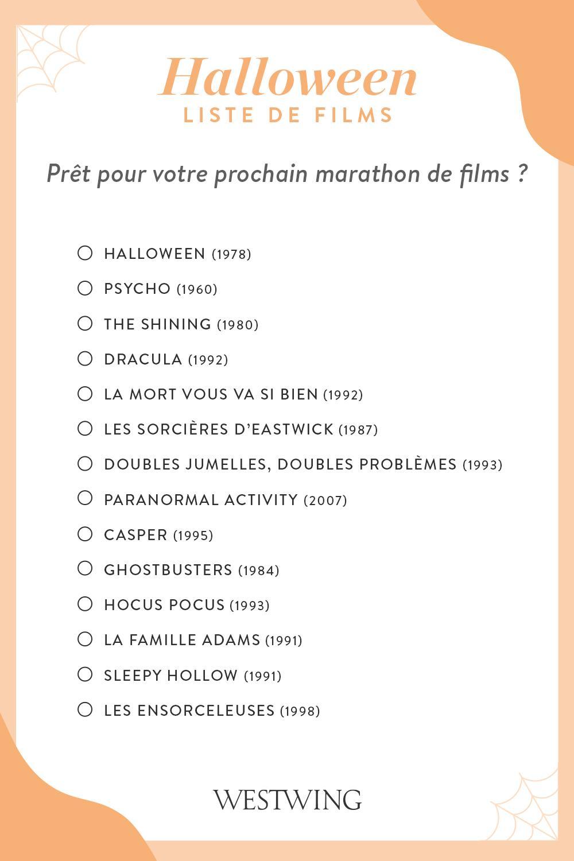 Liste de films à voir pour Halloween