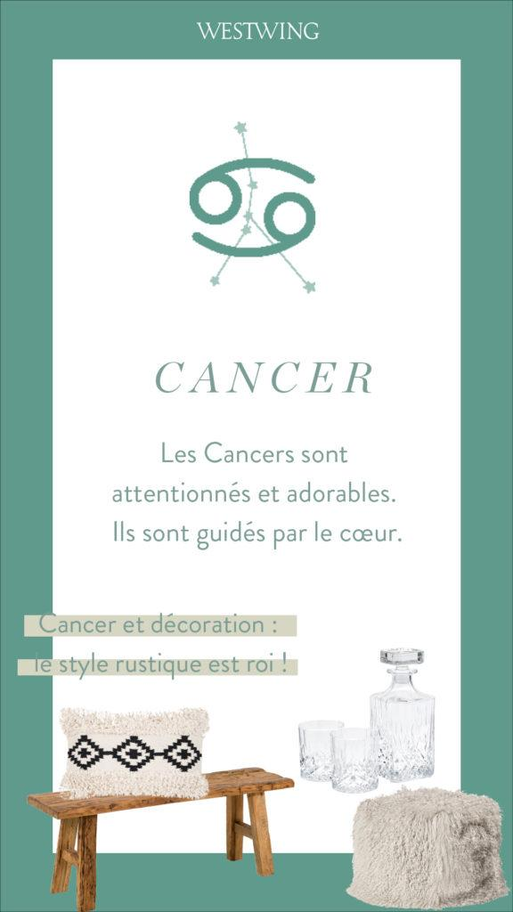 signe astro cancer