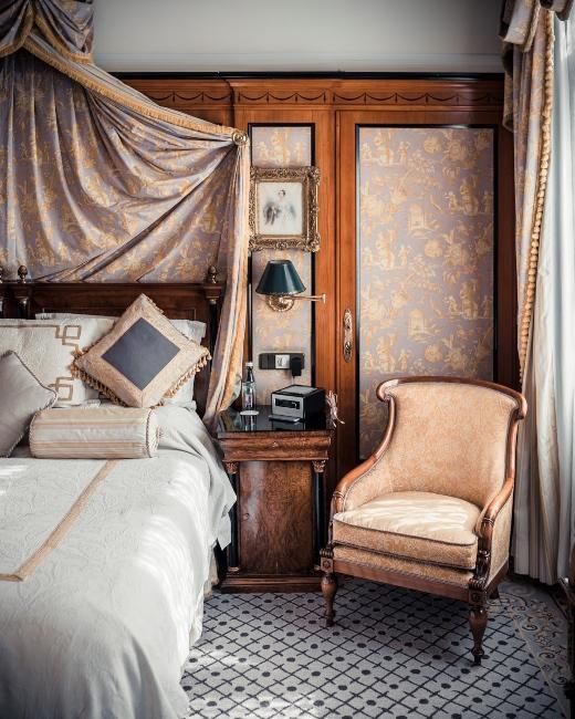 chambre vintage style château