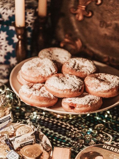 Patisseries de Hanukkah