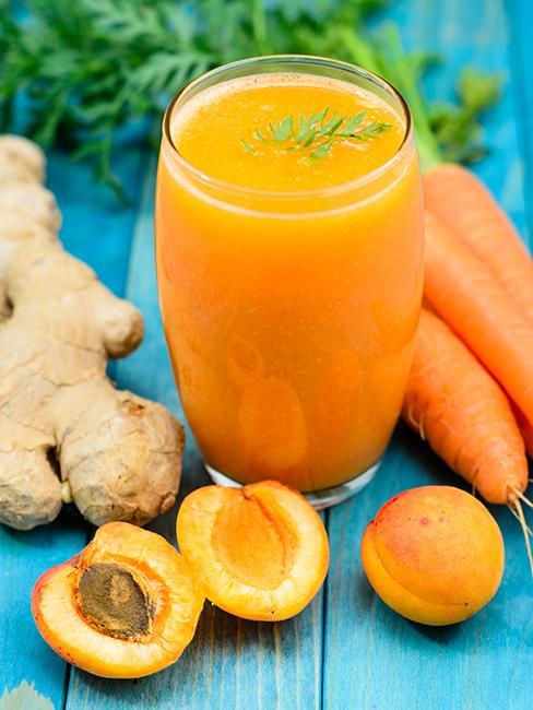 Jus vitaminé avec carotte