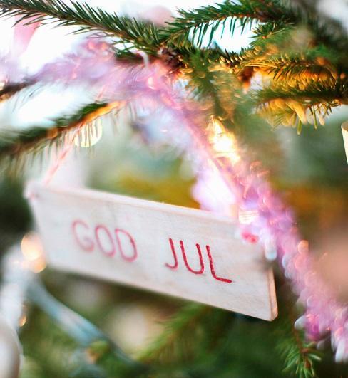 God Jul, noel suédois